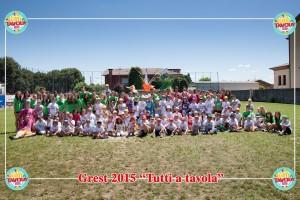 foto di gruppo grest 2015
